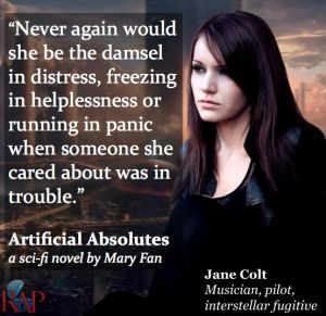 Jane Colt, protagonist of Artificial Absolutes
