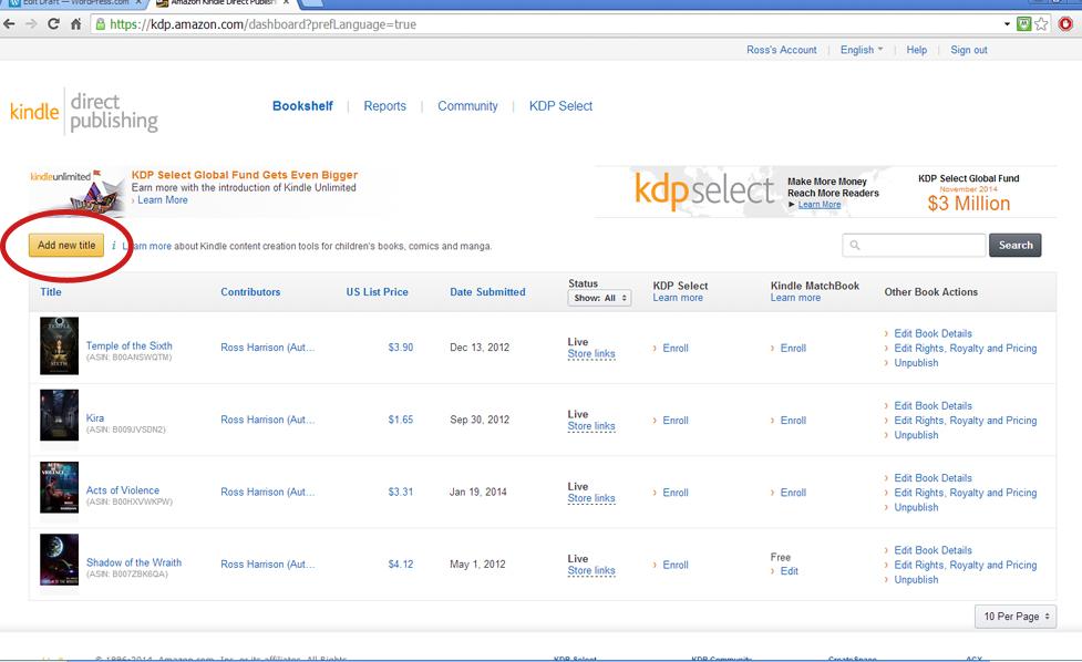 Kindle Direct Publishing Formatting Guide | Nexuseses
