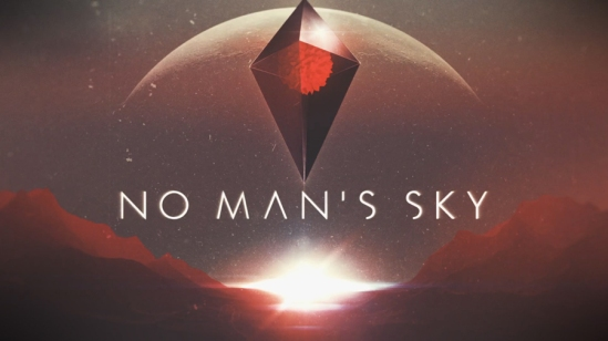 No Man's Sky splashscreen