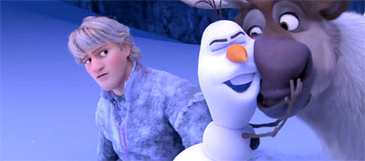 Kristoff, Olaf & Sven, Frozen