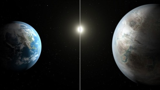 Kepler 452b/Earth