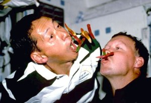 Eating in Space