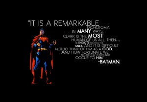 Superman - remarkable dichotomy