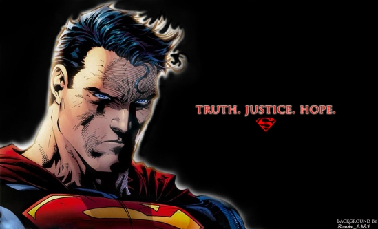 Superman - Truth. Justice. Hope.