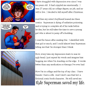 Superman Saved My Life
