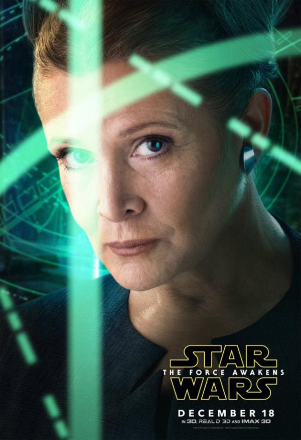 Force Awakens - Leia