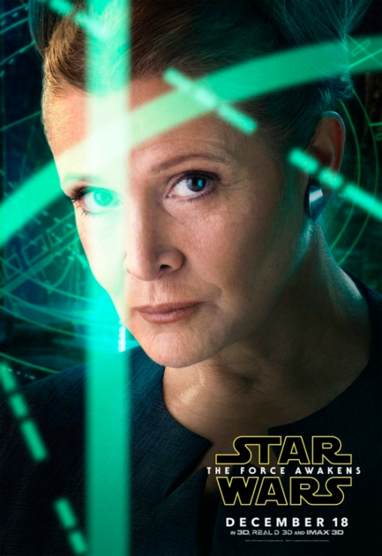 Force Awakens - Leia