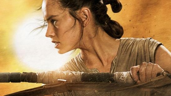 The Force Awakens Rey