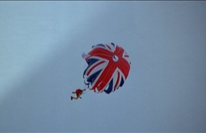 James Bond, Parachute